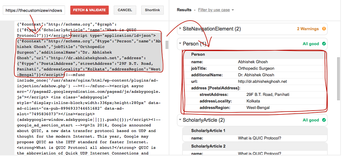 Embed JSON-LD in WordPress to Give More Information