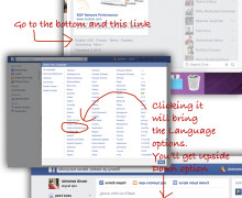 Make Facebook Text Upside Down (Official Method)