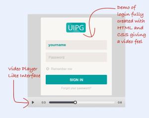 jQuery Plugin To Create Fake Video Demo