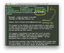 Edit SSH After Login Info (MOTD) on Deb GNU:Linux