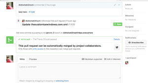 Fix This pull request contains merge conflicts that must be resolved