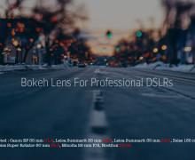 Good Bokeh Lens For Professional DSLRs