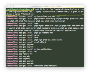 List All Installed Packages on SSH (Ubuntu:deb GNU:Linux)