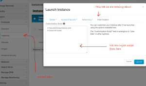 OpenStack Customization Script For Automation (HP Cloud)