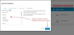 WordPress Auto Installation HP Cloud Cloud-Init Script