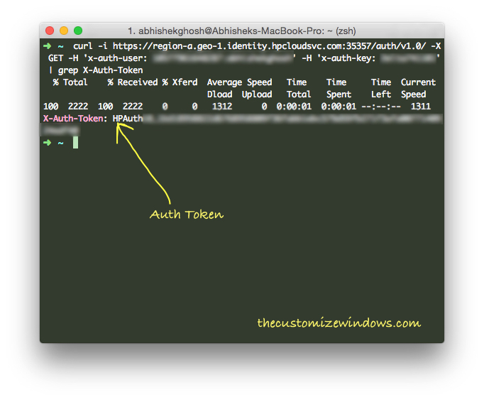 How-To-Get-Auth-Token-in-HP-Cloud-OpenStack-Swift