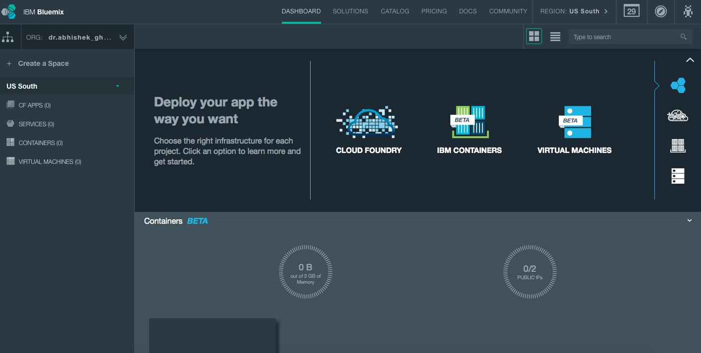 IBM BlueMix PaaS Review