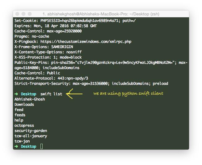 Bulk Delete OpenStack Object Storage (Swift) Objects