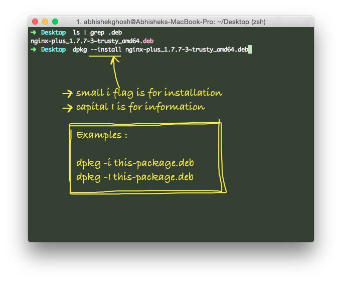 Install .deb Packages in Ubuntu or Other deb GNU:Linux
