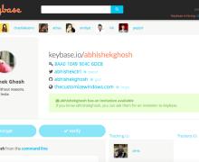 Keybase.io - Definitely a Great idea