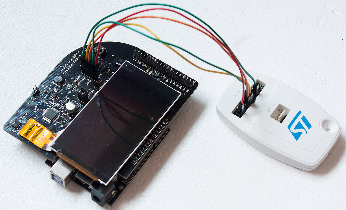 Used mobile phone s display for arduino diy projects