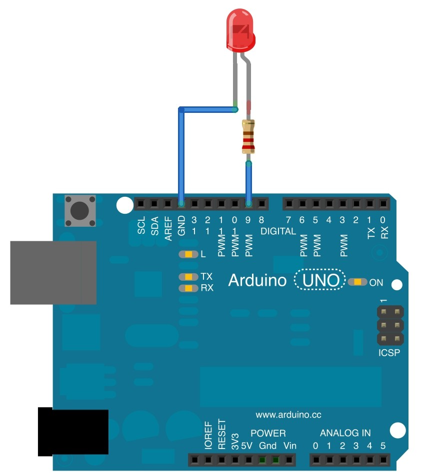 Your First Project With Arduino  U0026 External Led