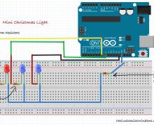 Mini Christmas Light