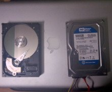 Taking Out Hard Disk Motor For DIY Project