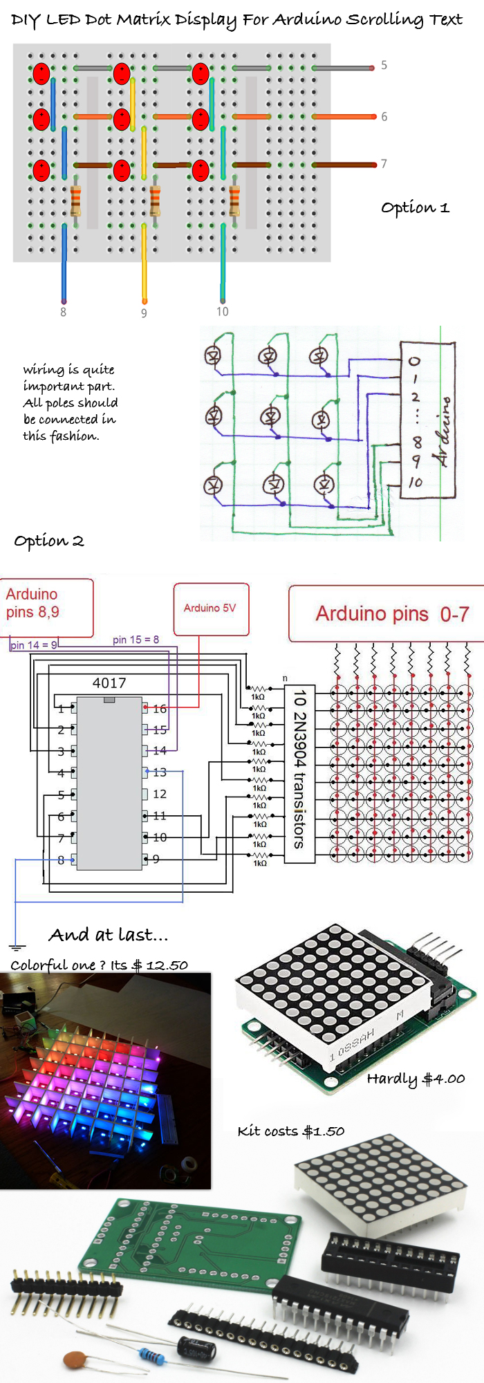 DIY-LED-Dot-Matrix-Display-For-Arduino-Scrolling-Text