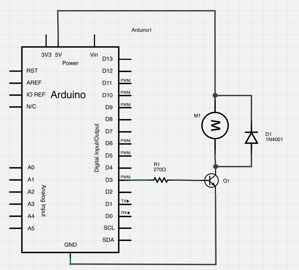 Externally Powering Arduino Controlled Components