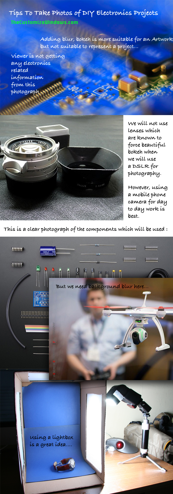 Tips-To-Take-Photos-of-DIY-Electronics-Projects