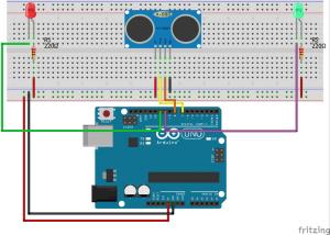 Projects from Tech: I2C HC-SR04 Sonar Module: ATtiny85 I2C