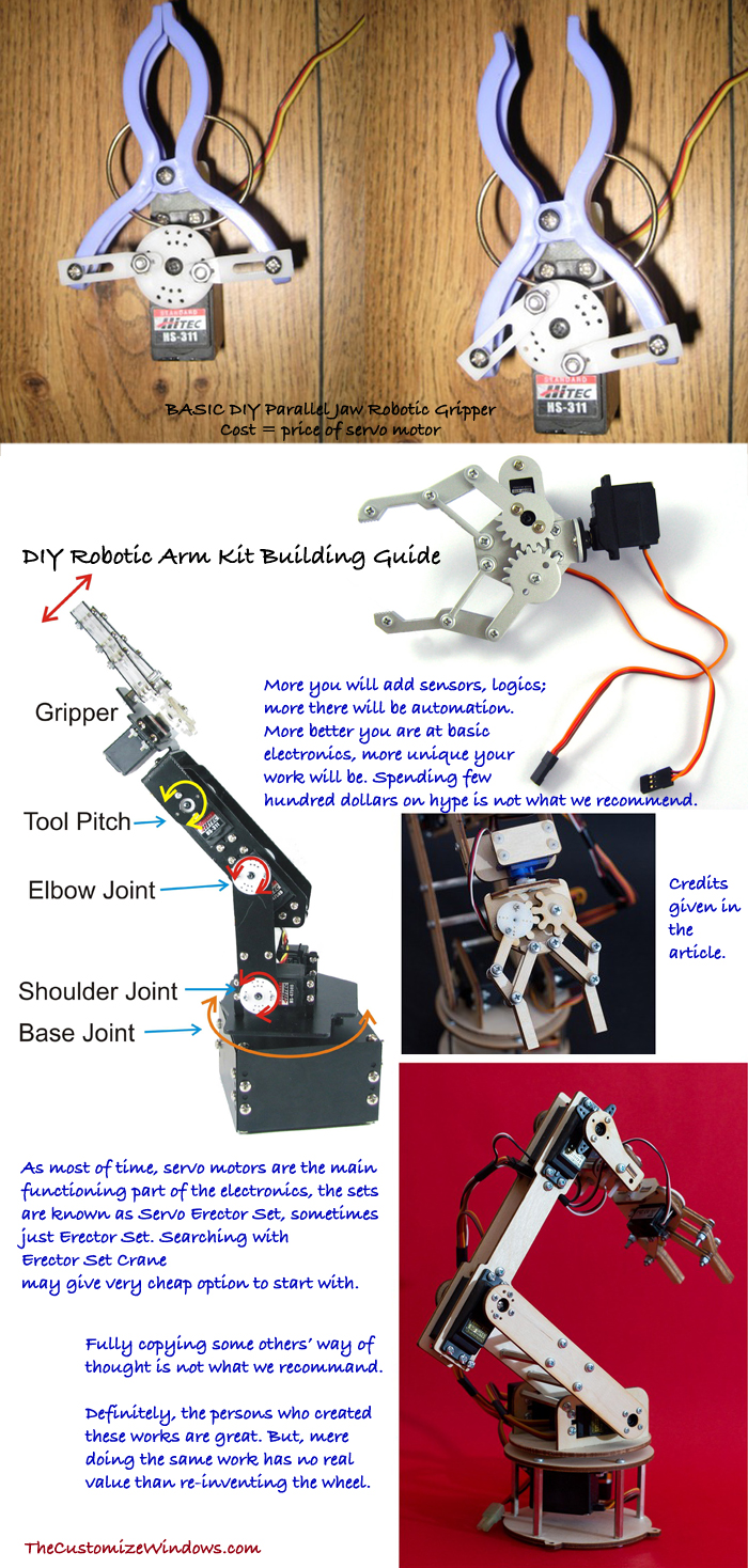 DIY-Robotic-Arm-Kit-Building-Guide