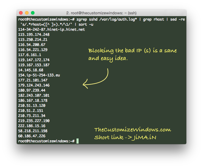 Bypass Blocked SSH Port and Wrong iptables Rules