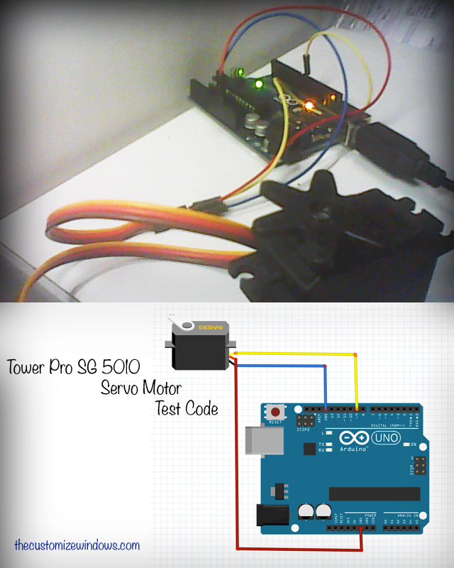 Tower-Pro-SG-5010-Servo-Motor-Test-Code-For-Arduino