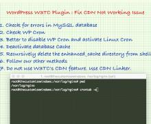 WordPress W3TC Plugin : Fix CDN Not Working Issue