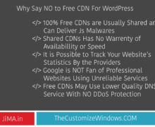 Free CDN For WordPress Powered Small Websites