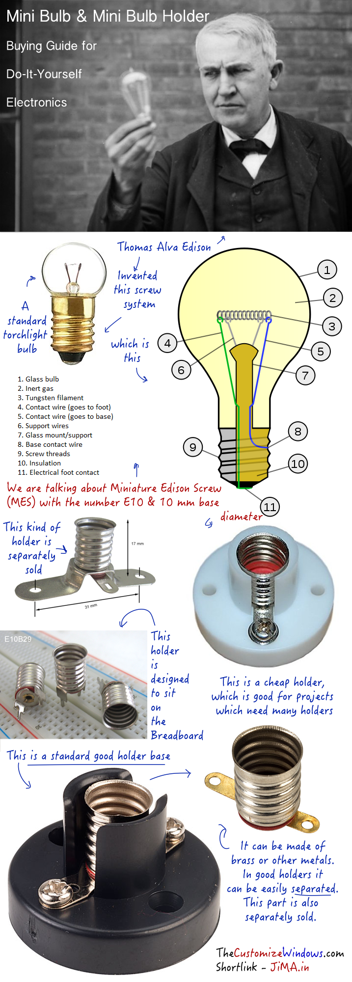 Mini Bulb & Mini Bulb Holder Buying Guide for DIY Electronics