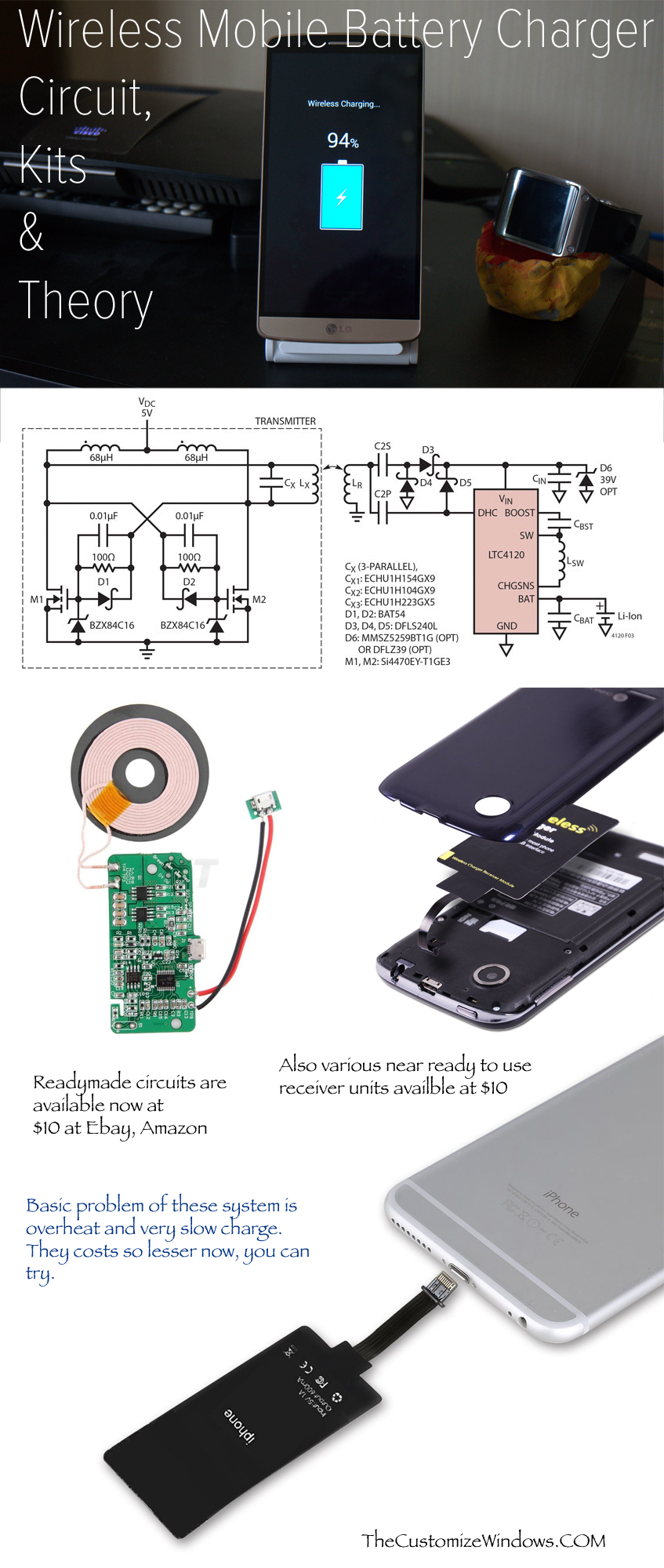 Wireless-Mobile-Battery-Charger-Circuit-Kits-Theory