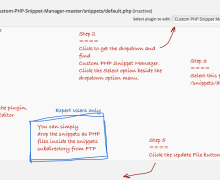 WordPress Plugin to Avoid Snippet on Theme's functions.php