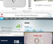 Airtel 4G Huawei E5573 Router WiFi Hotspot : Features & Specs