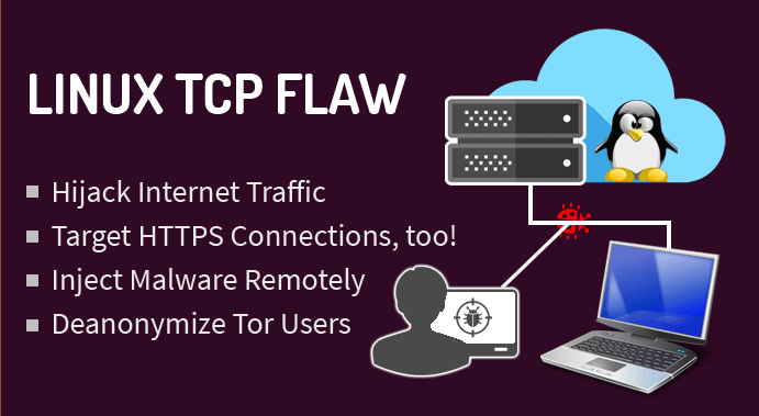 Warning - TCP Stack Vulnerability in the Linux Kernel  (CVE-2016-5696)