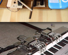 DIY Robot Guitar & Piano Player : Arduino to EV3