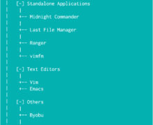 Few Command Line File Managers For Using on SSH