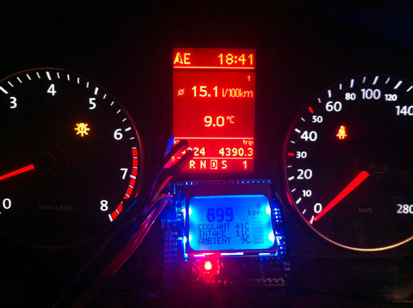 Car Data Capturing For Newbie - OBD II And Arduino, Raspberry