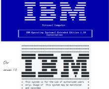 Retro Style IBM ASCII Logo For Cloud Server SSH Pre-Login