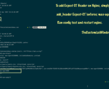 New Security Header : Expect CT Header Nginx Directive