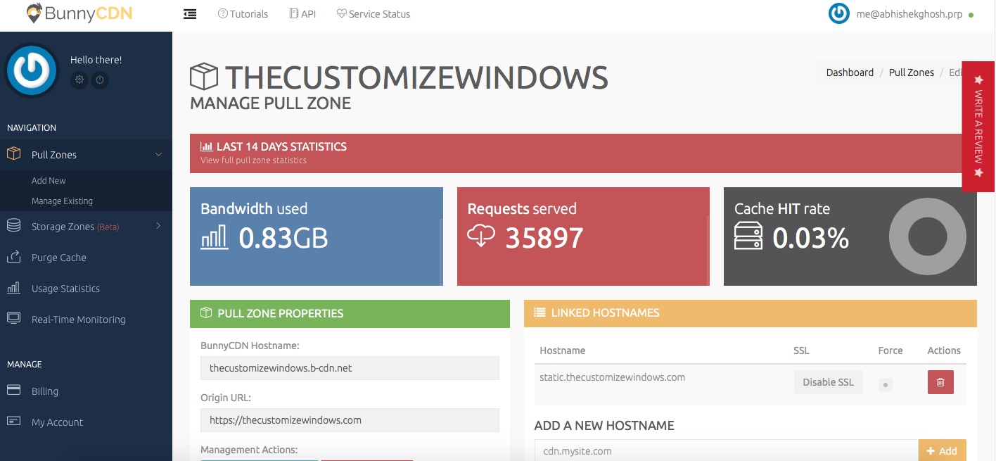 BunnyCDN - Cheapest CDN For WordPress Websites With IPv6 Tested