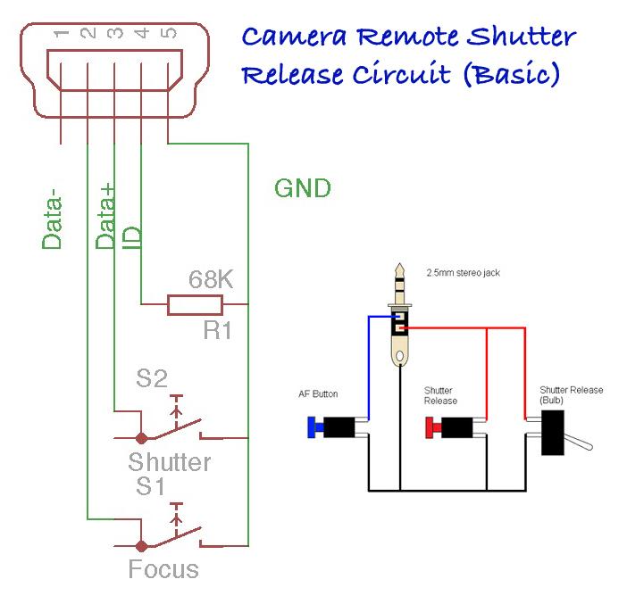 Camera-Remote-Shutter-Release-Circuit