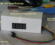DIY Basic Stand For TM1637 7 Segment LED Display Module