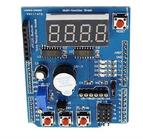 Arduino Multifunction Shield HCARDU0085 Features