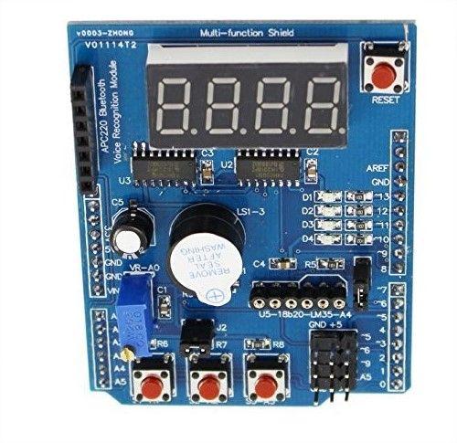 Arduino Multifunction Shield HCARDU0085 Features