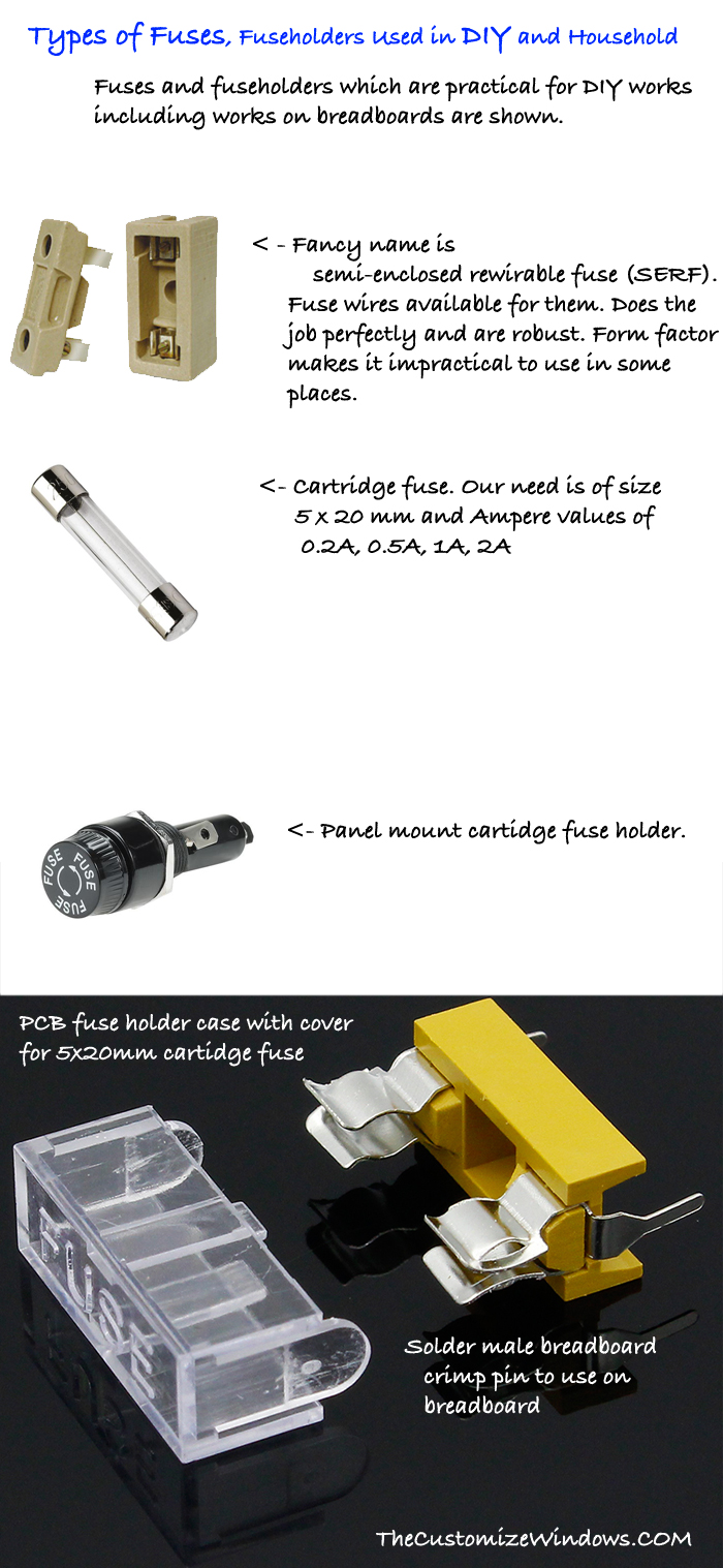 Types-of-Fuses-Fuseholders-Used-in-DIY-Household