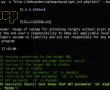 sqlmap Tutorial : WordPress SQL Injection Testing (White Hat)