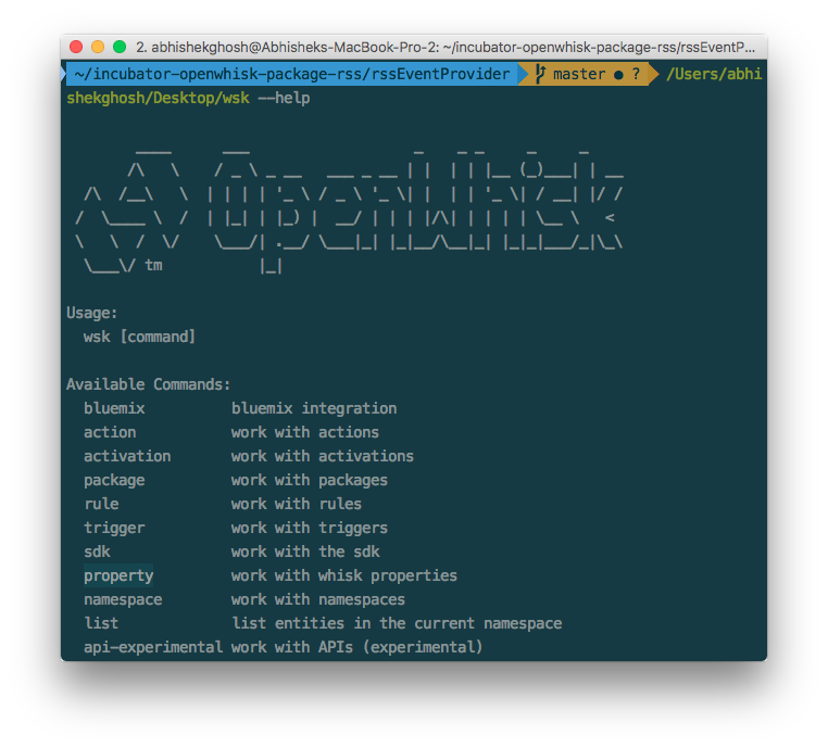 Serverless Computing Test Drive IBM OpenWhisk RSS Package