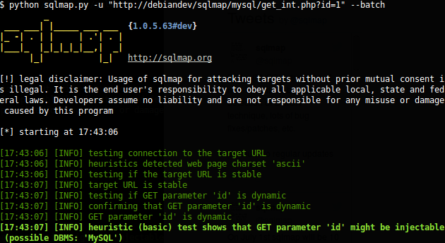 sqlmap Tutorial WordPress SQL Injection Testing White Hat