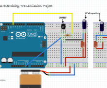 Arduino Wireless Electricity Transmission Project
