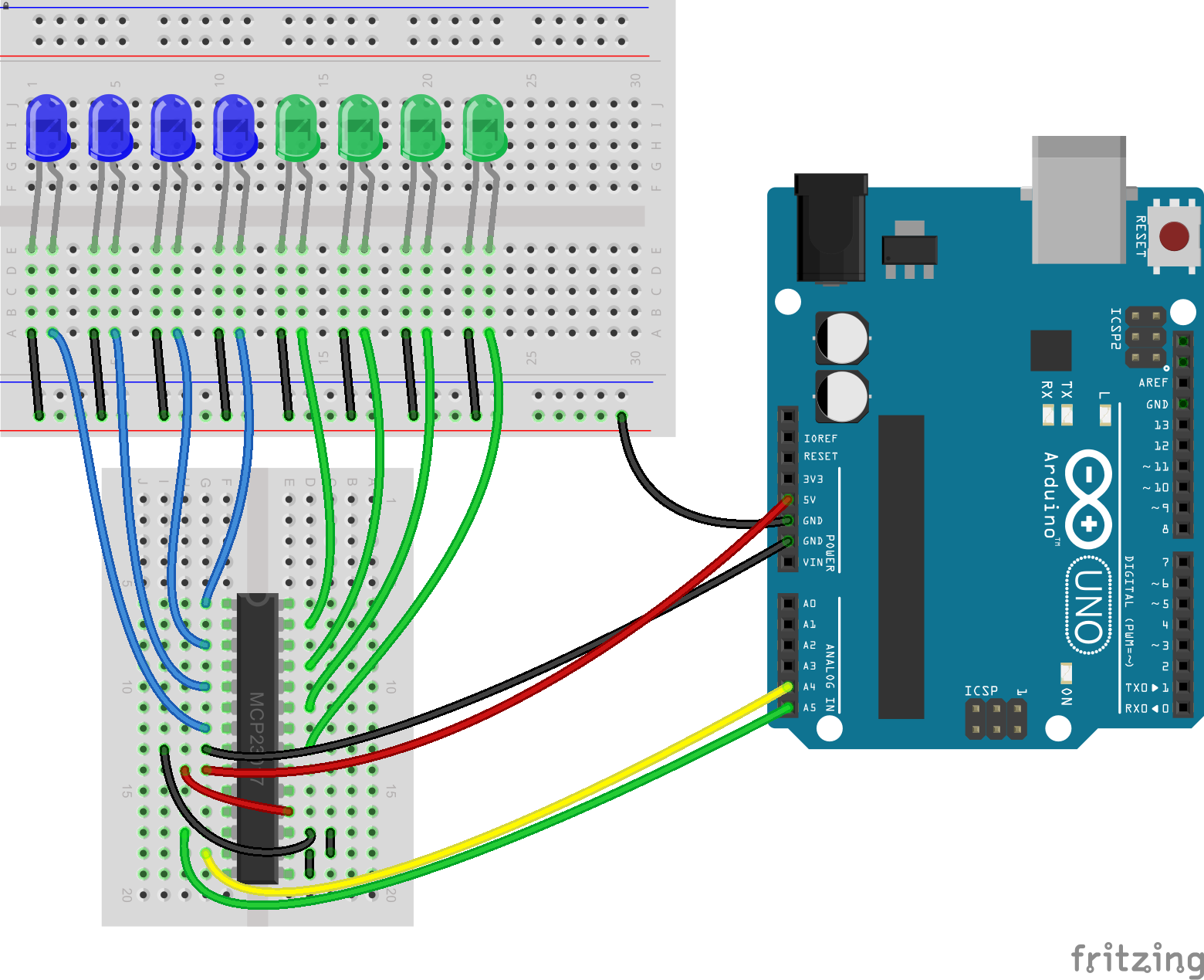 How to Increase the Number of Digital Pins in Arduino Port Extender