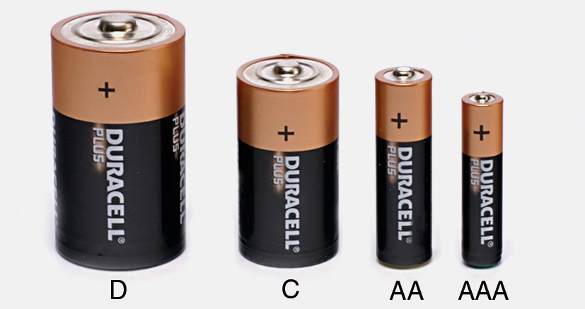 Which Size of Battery to Choose For Electronics Works AA-AAA-D-C