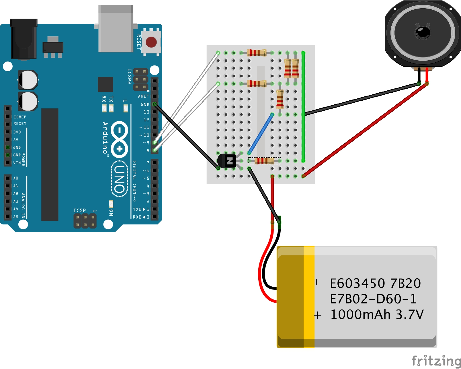 How To Play MP3 On Arduino With No Shield No SD Card